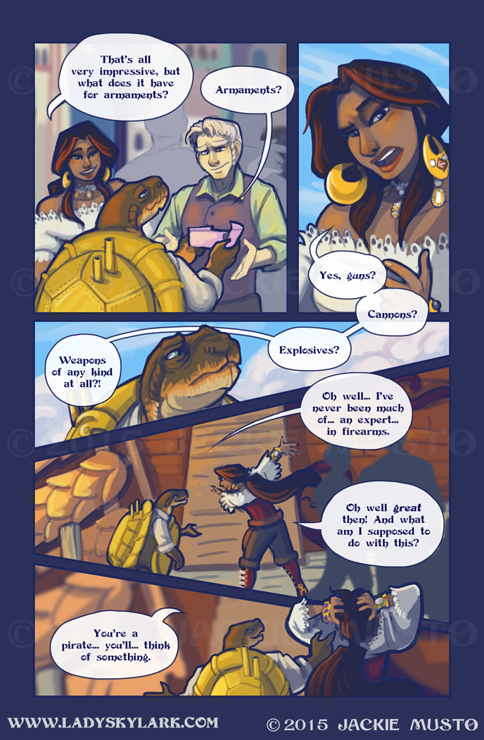 Lady Skylark and the Queen's Treasure - Page 195