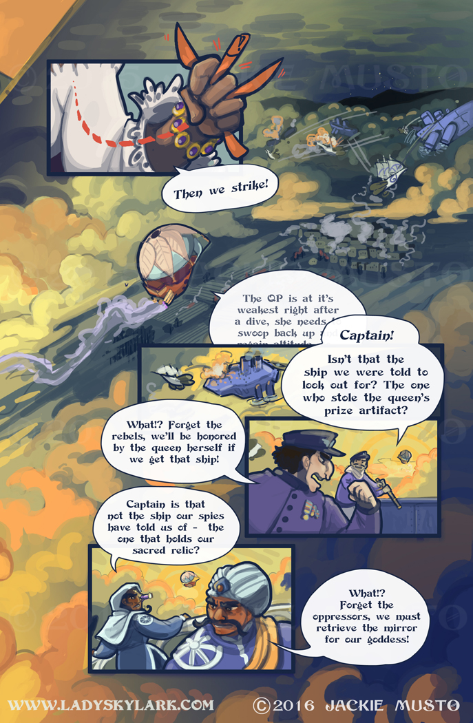 Lady Skylark and the Queen's Treasure - Page 199