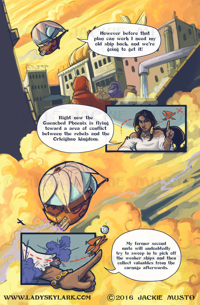 Lady Skylark and the Queen's Treasure - Page 198
