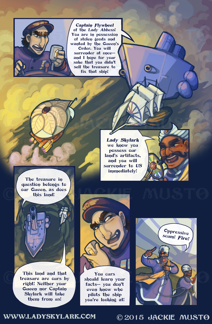 Lady Skylark and the Queen's Treasure - Page 202