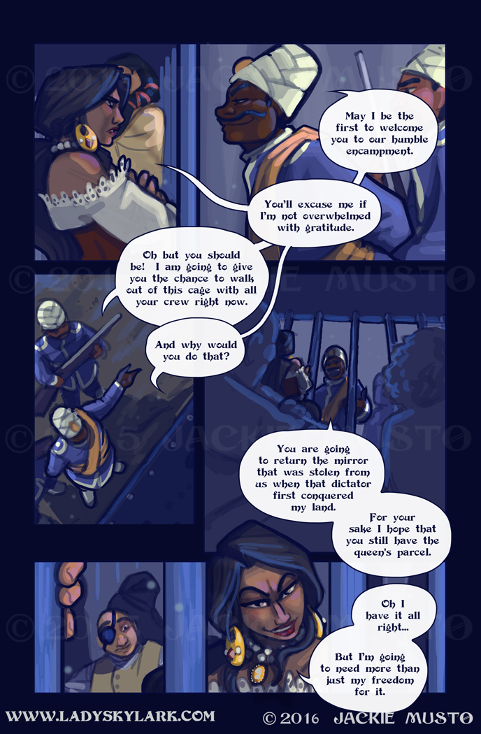 Lady Skylark and the Queen's Treasure - Page 215