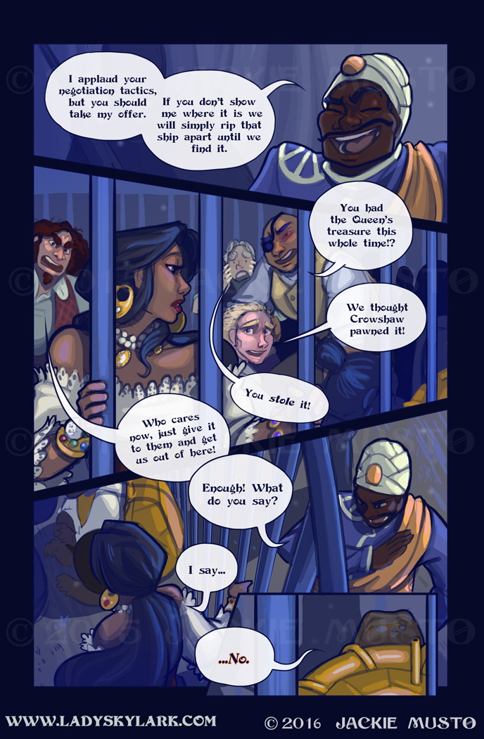 Lady Skylark and the Queen's Treasure - Page 216