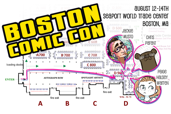 Boston Comic Con 2016!