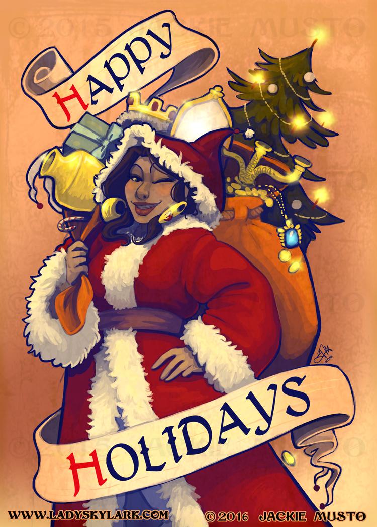 Happy Holidays from Lady Skylark!