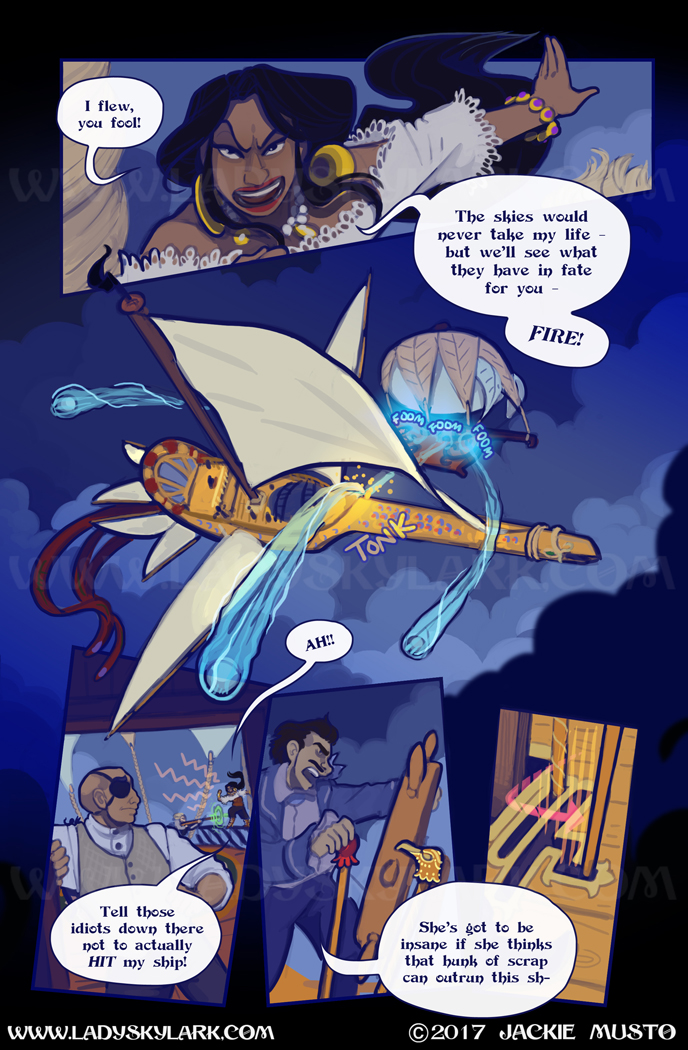 Lady Skylark and the Queen's Treasure - Page 251