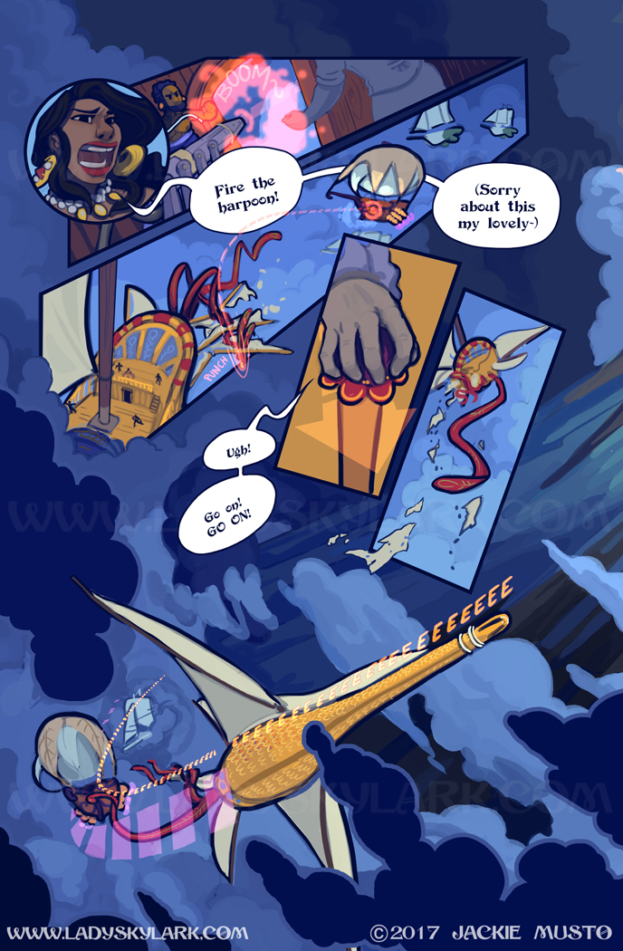 Lady Skylark and the Queen's Treasure - Page 256