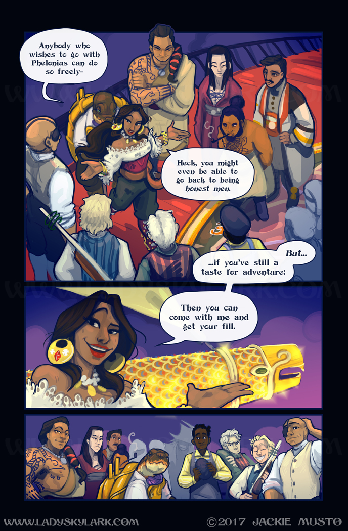 Lady Skylark and the Queen's Treasure - Page 289