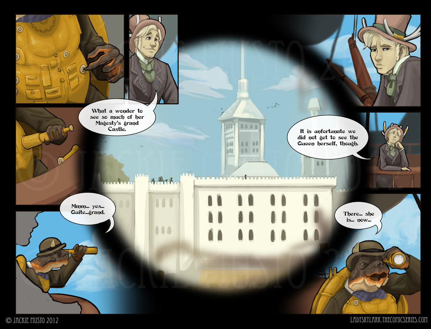 Lady Skylark and the Queen's Treasure - Page 22-23