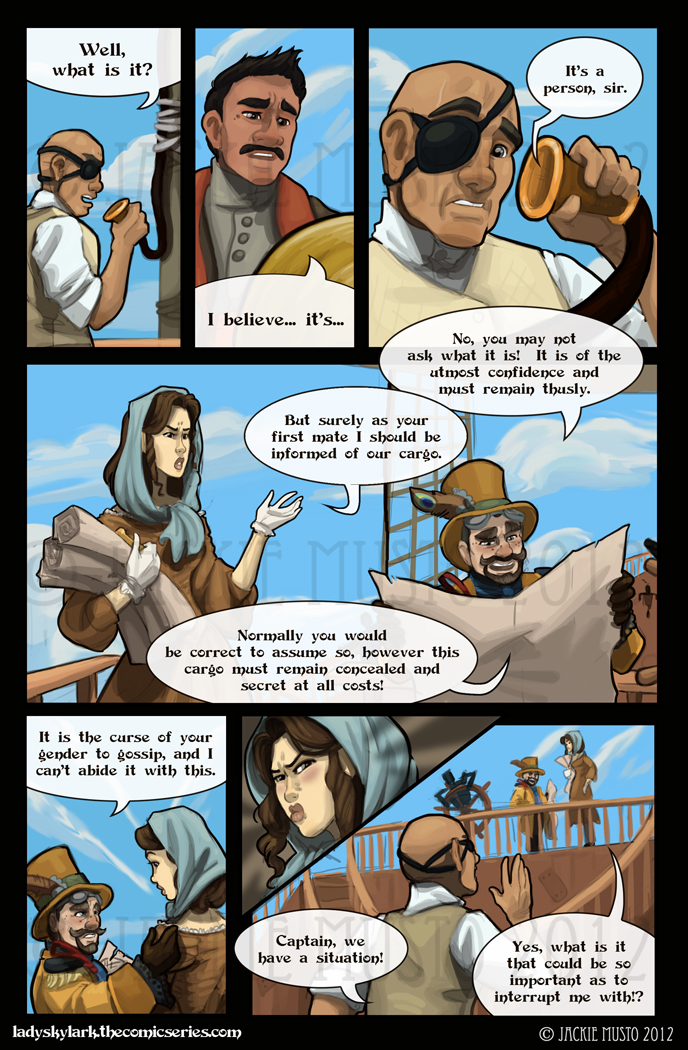 Lady Skylark and the Queen's Treasure - Page 36