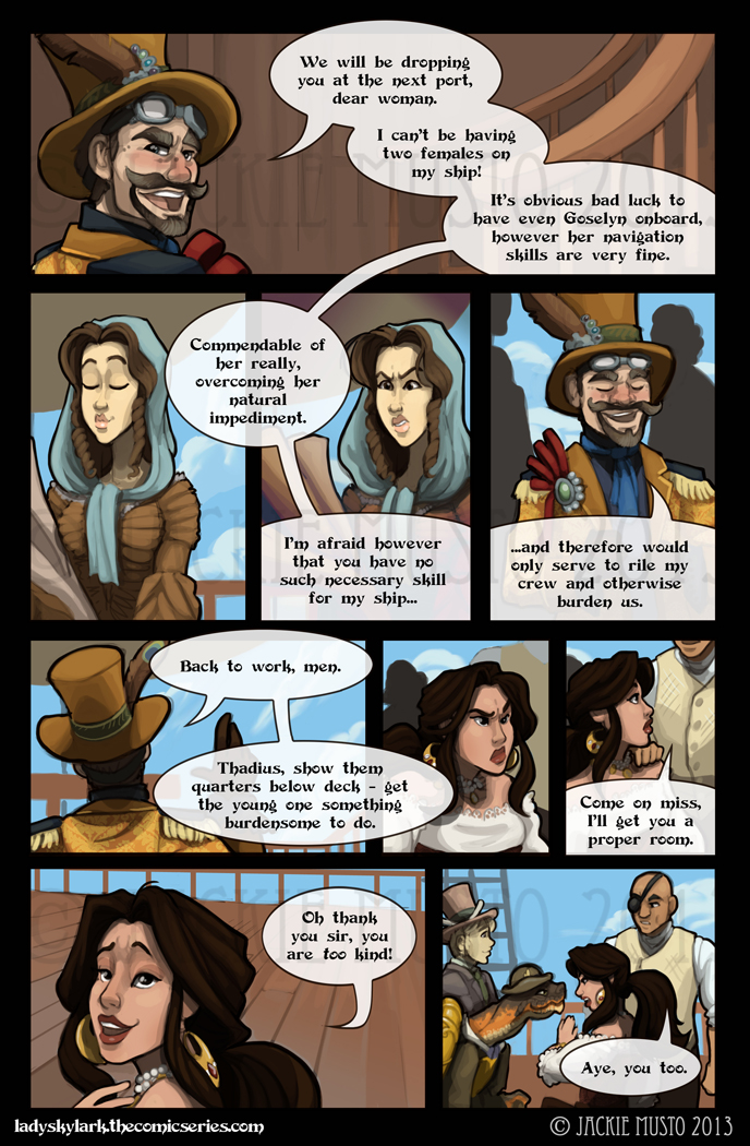 Lady Skylark and the Queen's Treasure - Page 43