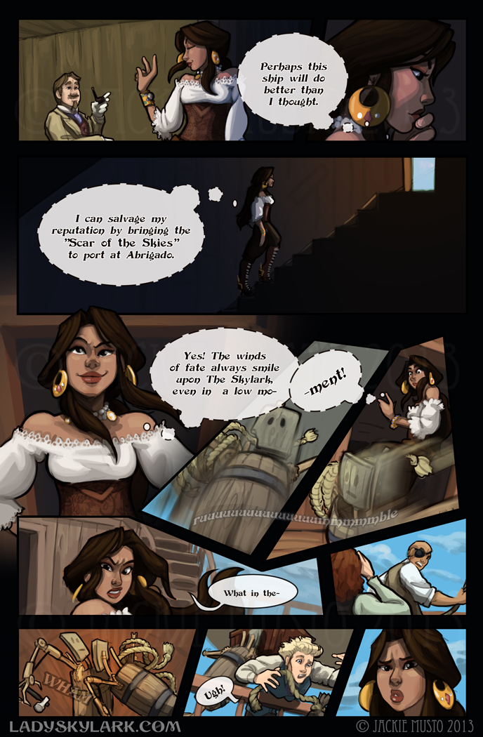 Lady Skylark and the Queen's Treasure - Page 51