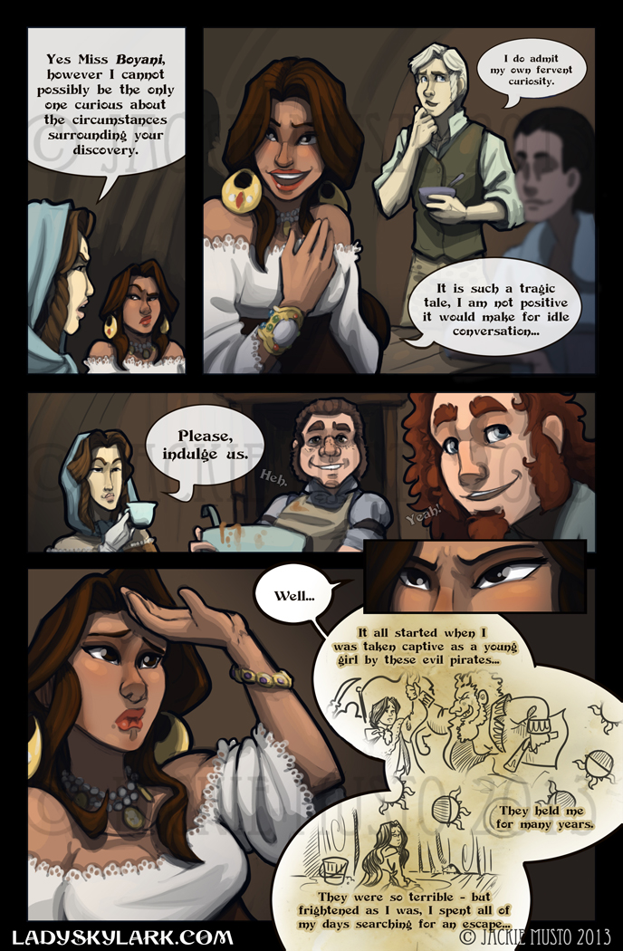 Lady Skylark and the Queen's Treasure - Page 56