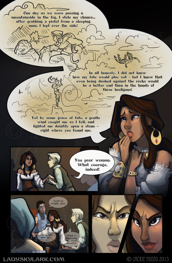Lady Skylark and the Queen's Treasure - Page 57