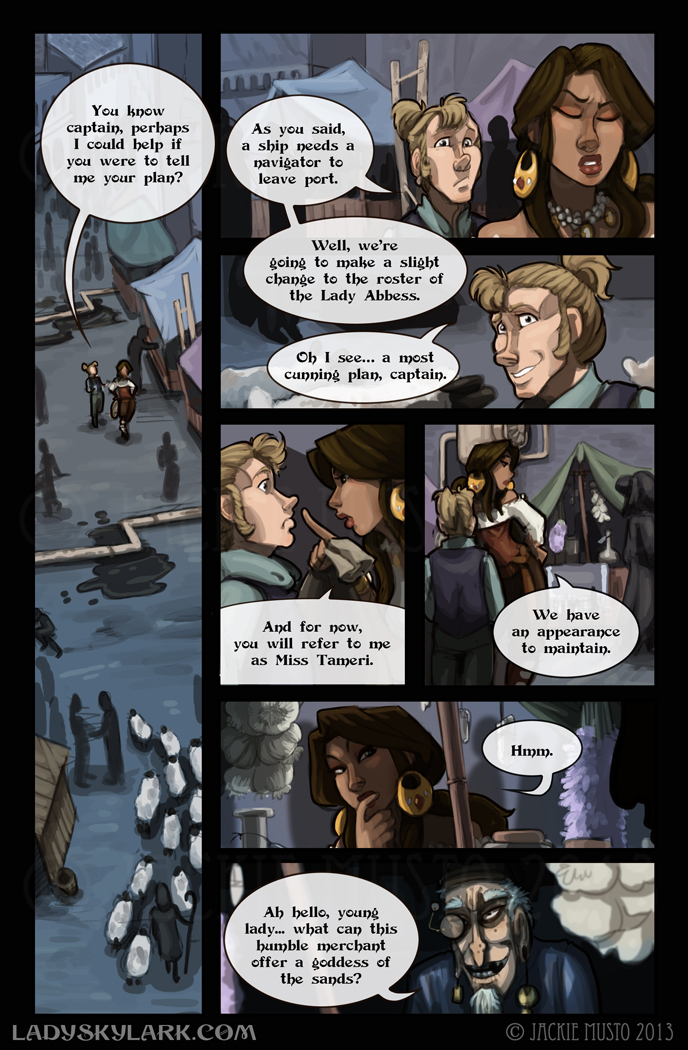 Lady Skylark and the Queen's Treasure - Page 75