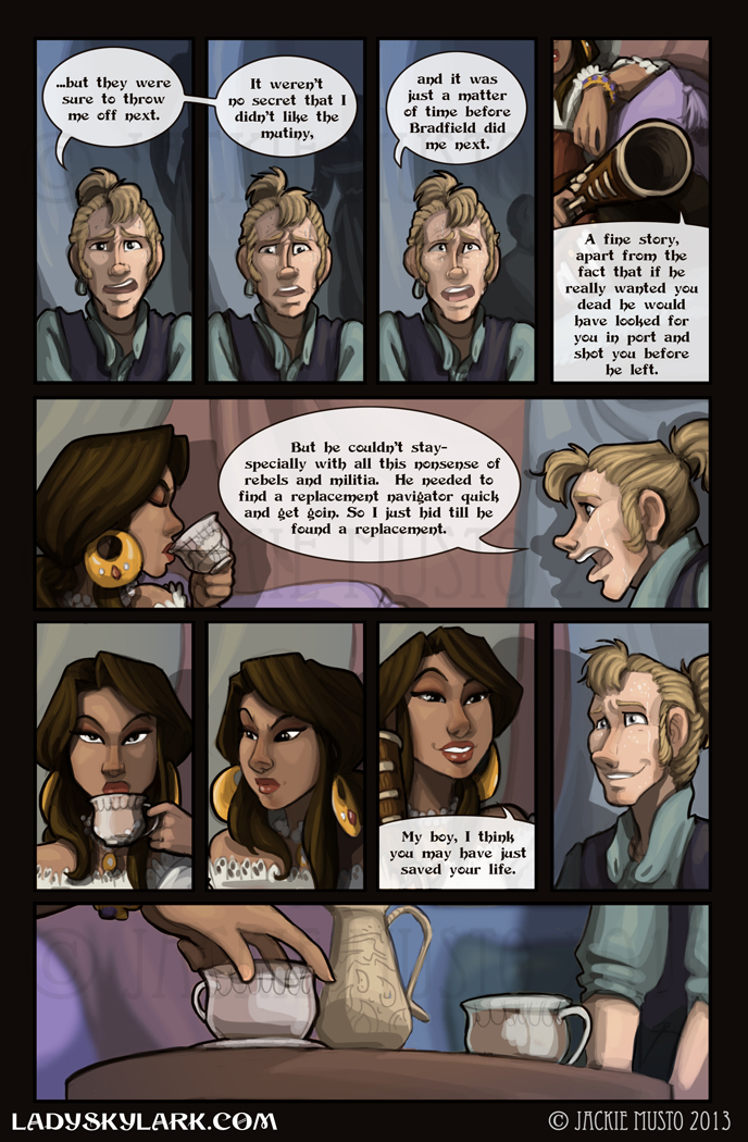 Lady Skylark and the Queen's Treasure - Page 74