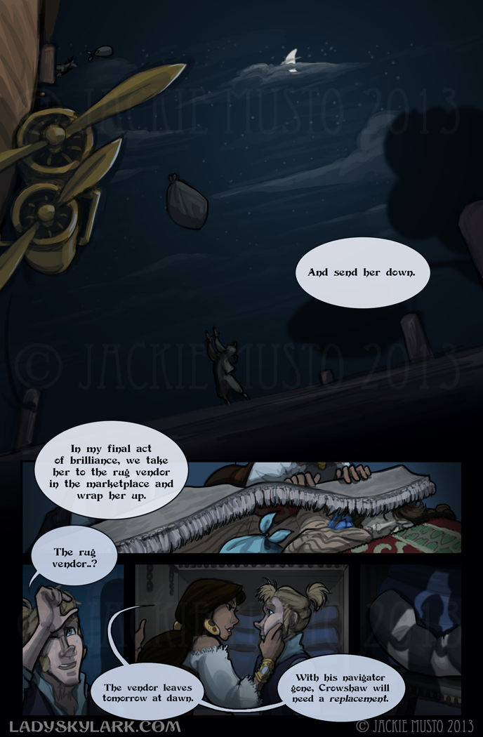 Lady Skylark and the Queen's Treasure - Page 80