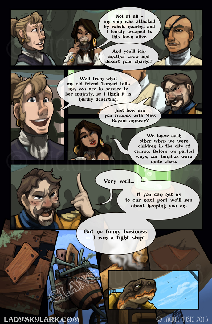 Lady Skylark and the Queen's Treasure - Page 84