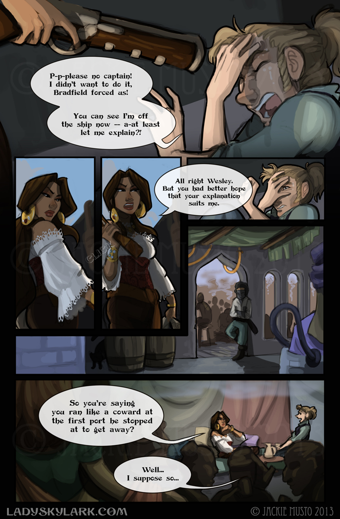 Lady Skylark and the Queen's Treasure - Page 73