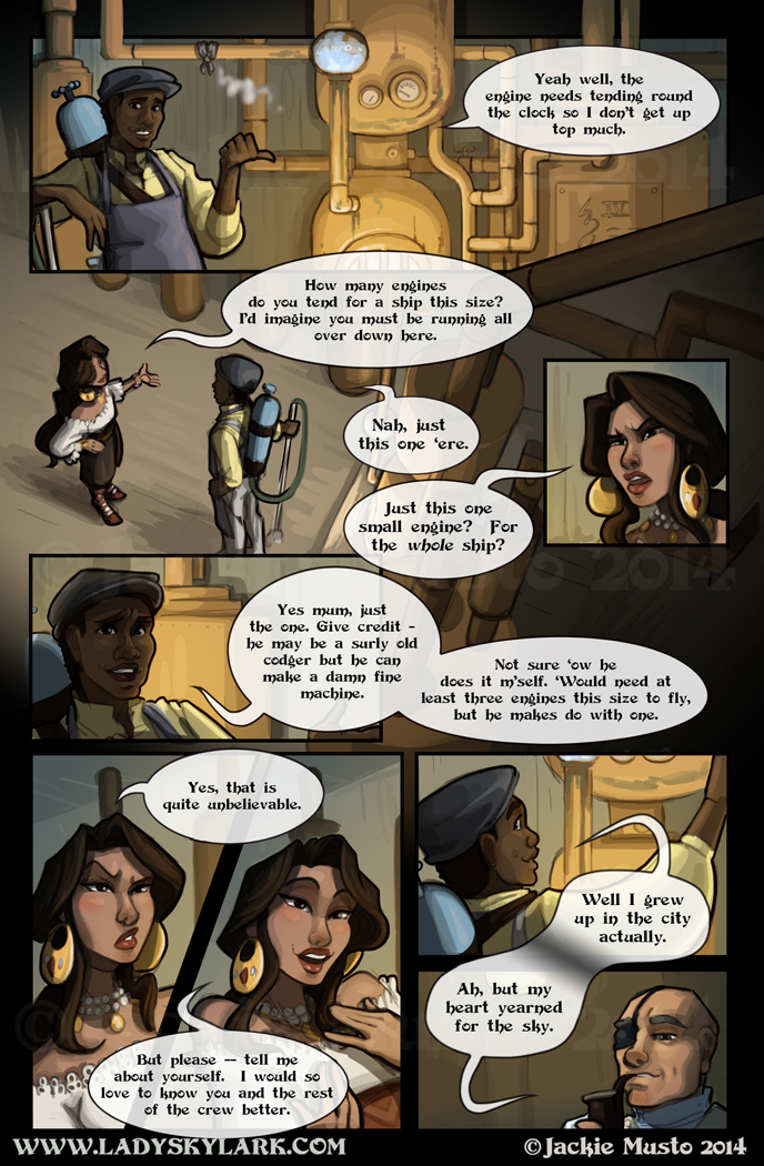 Lady Skylark and the Queen's Treasure - Page 91