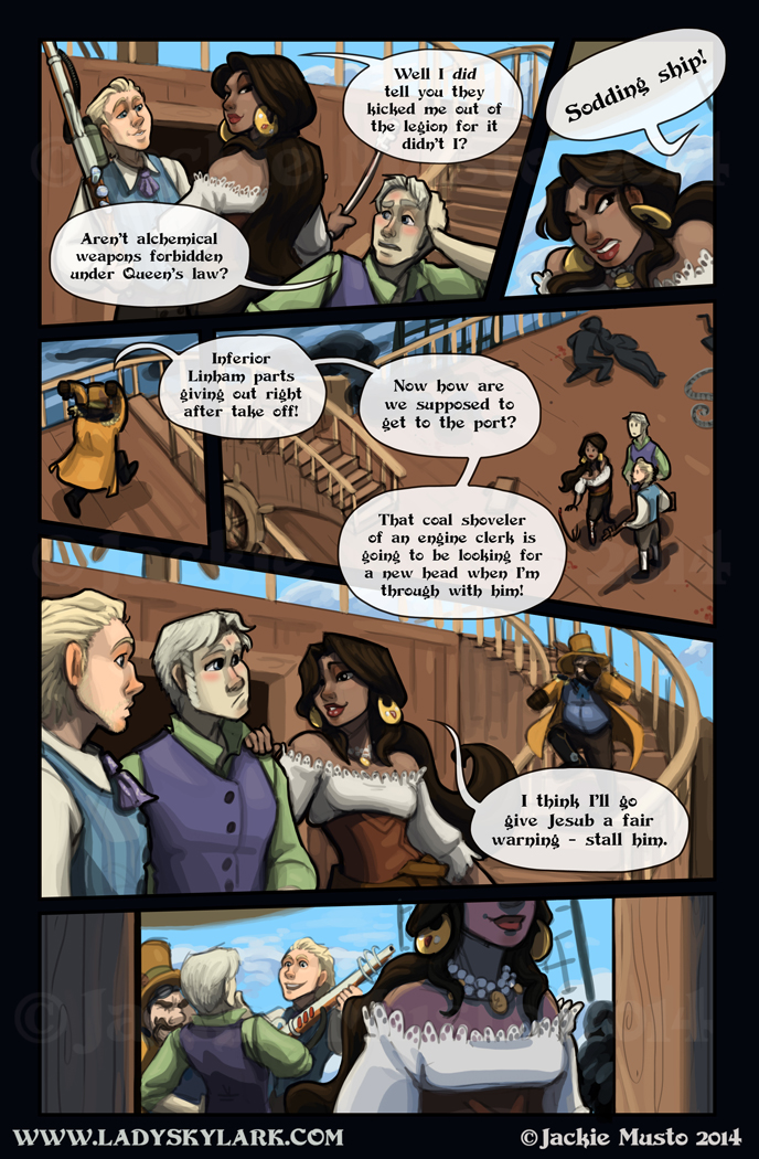 Lady Skylark and the Queen's Treasure - Page 99