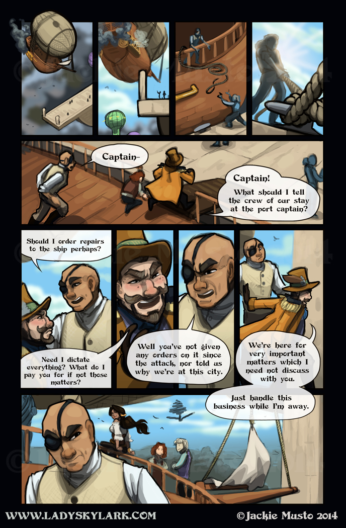 Lady Skylark and the Queen's Treasure - Page 106