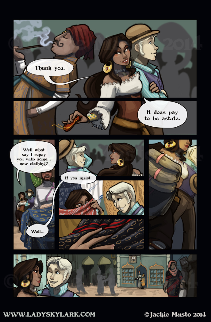 Lady Skylark and the Queen's Treasure - Page 110
