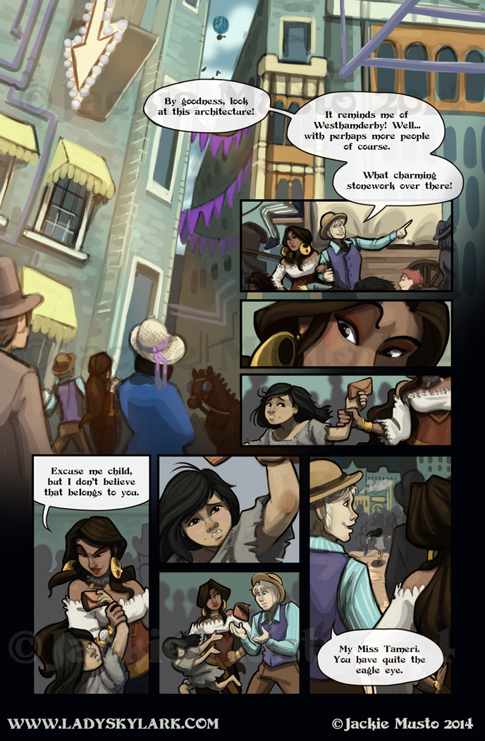 Lady Skylark and the Queen's Treasure - Page 109