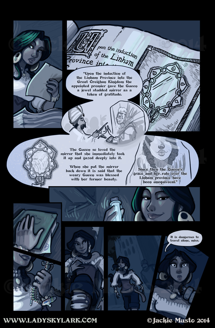 Lady Skylark and the Queen's Treasure - Page 116