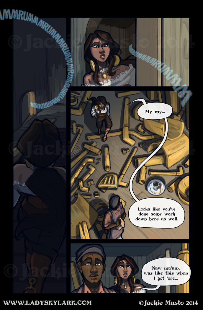 Lady Skylark and the Queen's Treasure - Page 128