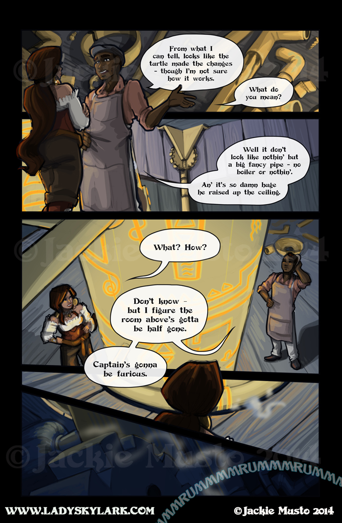 Lady Skylark and the Queen's Treasure - Page 130