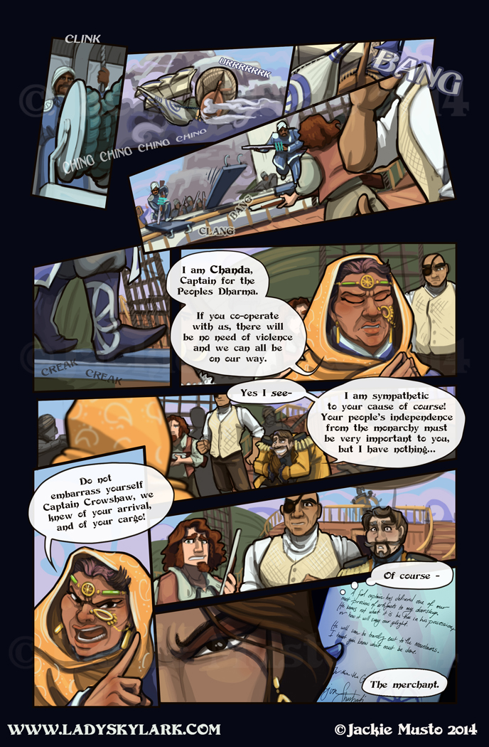 Lady Skylark and the Queen's Treasure - Page 147