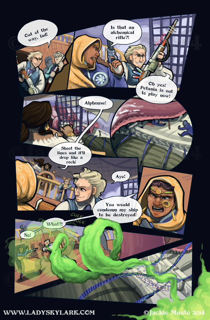 Lady Skylark and the Queen's Treasure - Page 157