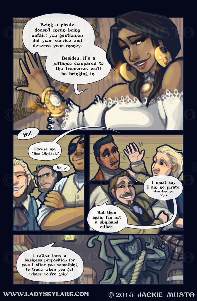 Lady Skylark and the Queen's Treasure - Page 169