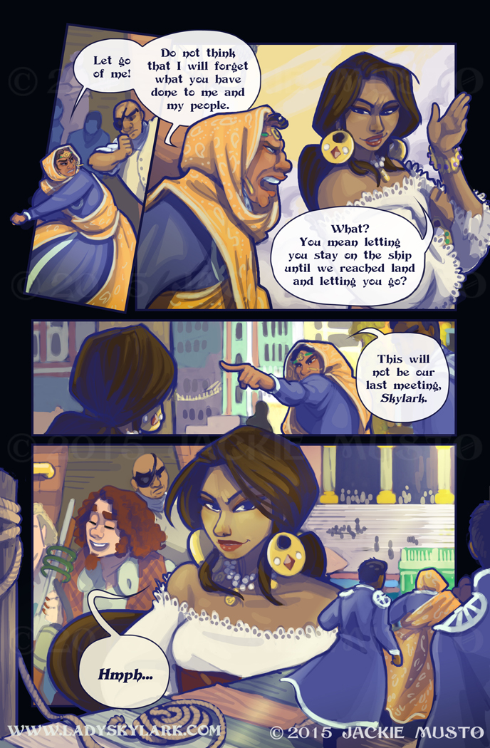 Lady Skylark and the Queen's Treasure - Page 174