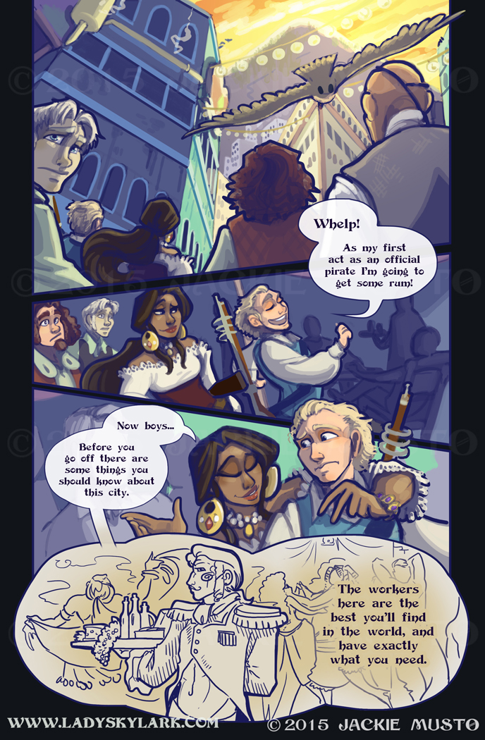 Lady Skylark and the Queen's Treasure - Page 176