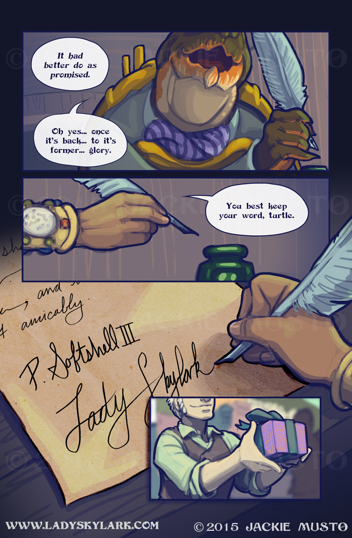 Lady Skylark and the Queen's Treasure - Page 187